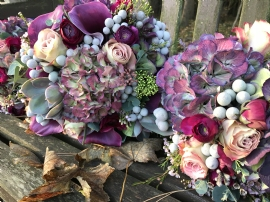 Autumnal Hand Tied Bouquet