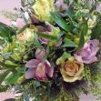 Sweet pink cottage garden bouquet