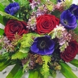 Attraction hand tied bouquet